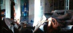 Screenshot from City of Bones trailer- Clary's apartment