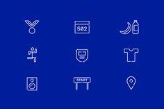 Run Mfg by Perky Bros, United States. #branding #icons