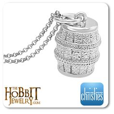 The Hobbit Barrel pendant celebrates the raging battle with vicious gangs of orcs and escape from the Elves of Mirkwood by the Dwarves and Bilbo  http://www.thehobbitjewelry.com/the-hobbit-the-desolation-of-smaug-barrel-pendant-45.html