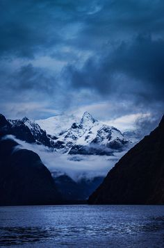 Deep in Milford Sound by Stuck in Customs | Trey Ratcliff. Taken October 27, 2012 in Jamestown, Milford Sound, Southland, New Zealand, via Flickr