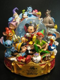 This gallery features group images of numerous Disney characters. This gallery features group images of numerous Disney characters. Walt Disney, Disney Magic, Disney Art, Disney Pixar, Disney Characters, Disney Stuff, Disney Wiki, Collection Disney, Disney Snowglobes