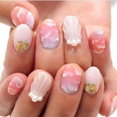 Nail art Christmas - the festive spirit on the nails. Over 70 creative ideas and tutorials - My Nails Square Nail Designs, Colorful Nail Designs, Cute Nail Designs, Pedicure Designs, Cute Spring Nails, Spring Nail Art, Summer Nails, Cute Nail Art, Cute Nails