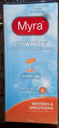 Myra Vitawhite Whitening Face Lotion w/ Actilight Complex SPF15 50ml -- You can find more details by visiting the image link.