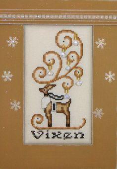 CRYSTAL:  REINDEER VIXEN