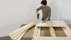 Wir zeigen Ihnen, wie Sie ein Podest selber bauen können ohne viel Geld + Zeit investieren zu müssen. Entdecken Sie die Bosch DIY Heimwerker Projektanleitung!