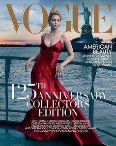 Jennifer Lawrence on Vogue September 2017  Photo: Annie Leibovitz