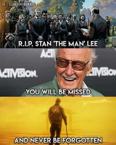 Stan Lee (Stanley Martin Lieber) - I will make sure my family never forgets Marvel or you, Stan Lee Marvel Quotes, Funny Marvel Memes, Dc Memes, Marvel Dc Comics, Marvel Heroes, Marvel Avengers, Funny Avengers, Universe News, The Villain
