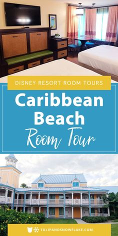 PIN THIS and CLICK THROUGH TO READ >>> Take a photo tour of Disney's Caribbean Beach Resort rooms with lovely island decor, a sunlit corner table, and additional twin murphy bed great for families! Disney World Florida, Disney World Parks, Disney World Planning, Disney World Vacation, Disney Vacations, Disney Trips, Walt Disney, Disney Worlds, Disney Cruise