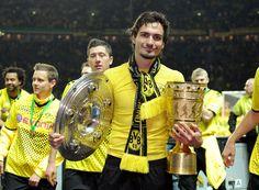 Double Gewinner Borussia Dortmund © by GEPA pictures
