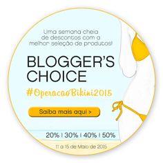 Amostras e Passatempos: SKIN Blogger's Choice #OperacaoBikini2015