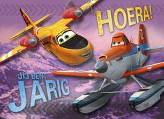 Verras de jarige jongen met een stoere Planes verjaardagskaart van Hallmark Cards. #hallmark #planes #disney
