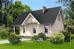 Projekt domu Kłajpeda LMP125 Garage Organization, Houses, Outdoor Structures, Homes, House, Computer Case, Home, Shed Organization