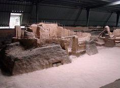 Joya de Cerén Archaeological Sitewas a pre-Hispanic farming community that, like Pompeii and Herculaneum in Italy, was buried under an eruption of the Laguna Caldera volcano c. AD 600