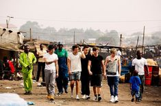 I don't see why people hate on one direction, what other groups do you know that volunteered in Africa and go to hospitals all the time
