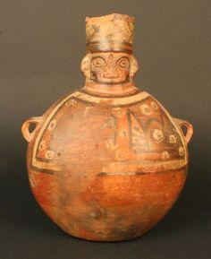 Materiales: Cerámica  Periodo: Medio 700- 1100 d.C.  Medidas: (sin medidas)  Código de pieza: MCHAP 3085   cultura Wari  Horizonte Wari-Tiwanaku.