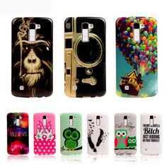 For LG K8 K10 Phone Cases Fashion TPU Silicone Cover For LG / LG K8 Lte K350/ LG K10 M2 Skin Back Case Mobile Phone Bag