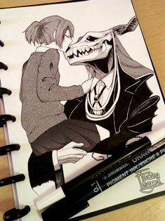Find images and videos about anime, drawing and mahoutsukai no yome on We Heart It - the app to get lost in what you love. Manga Art, Anime Manga, Anime Art, Manga Romance, Elias Ainsworth, Chise Hatori, Tamako Love Story, The Ancient Magus Bride, Estilo Anime