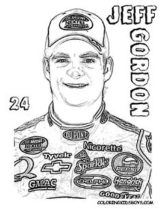 nascar coloring pages | Free NASCAR Coloring Pages ~ The Sports ...