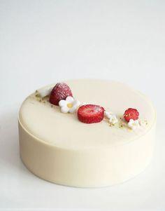 Tartas de cumpleaños - Birthday Cake - La receta de tarta fraisier, tarta francesa de fresas