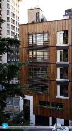 Cubic Architecture, Architecture Design, Building Facade, Facade Design, Facades, Buildings, Multi Story Building, Public, Gardens