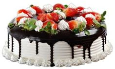 Send this Seasonal Fruit cake to your loved ones on any occasion through our Shop2Hyderabad. Get any type of cake through online and Flavor of your choice. Convey your message on the cake. Sending this delicious cake to your loved ones will be right gift to impress your dear ones. We do have Same Day home delivery service and Midnight home delivery Service.