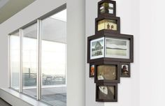 Boring Walls? Why Not Gather Wall Frames on the Corner!