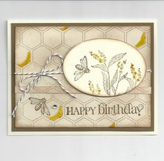 Spring Honey - Stampin' Connection