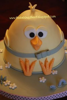 The Baking Sheet: The Easter Chicken Cake!