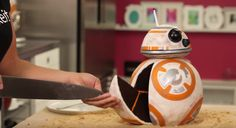 How To Make A Gravity-Defying BB-8 Star Wars Cake