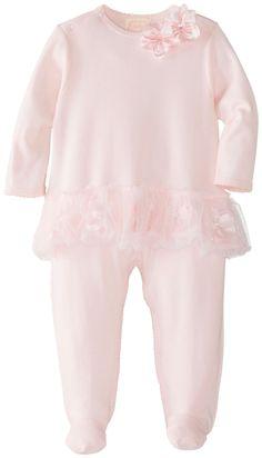 Amazon.com: Biscotti Baby-Girls Newborn Hide and Seek Footie, Pink, 6 Months: Clothing