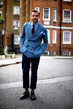 Patrick Grant of E Tautz and Norton & Sons, both of Saville Row, London