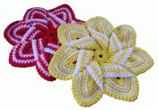 Crochet Flower Hot Pad | Crochet Hot Pad | Free Craft Project | G-Ma Ellen's Hands – Adventures in Crochet and Knit