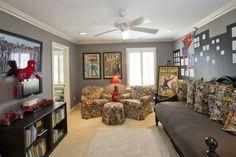 933 Princeton Dr Terrace Park, OH 45174  Spider Man Room, Comic Book Room