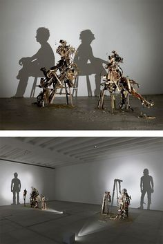 Shadow Art by Tim Noble and Sue Webster | Inspiration Grid | Design Inspiration