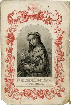 ©Universal Living Rosary Association of Saint Philomena Holy Card 029 Religious Images, Religious Icons, Religious Art, Catholic Art, Catholic Saints, Roman Catholic, Immaculée Conception, Catholic Pictures, Vintage Holy Cards