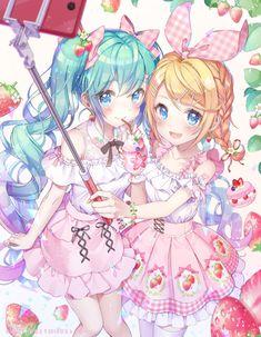 Manga Kawaii, Loli Kawaii, Kawaii Anime Girl, Art Anime, Anime Chibi, Anime Art Girl, Anime Girls, Thicc Anime, Anime Demon