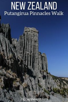 New Zealand Travel Guide – How to visit the Putangirua Pinnacles walk (photos + Tips) | #newzealand | Things to do in New Zealand North Island | New Zealand photography | New Zealand Road Trip | New Zealand scenery | New Zealand travel tips | New Zealand itinerary | #Travel | Travel Inspiration | Scenery & Wanderlust | Best Travel destinations