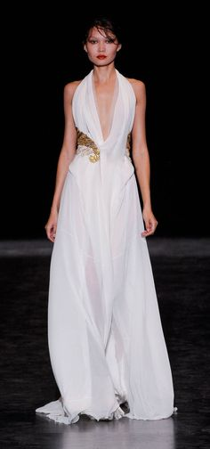 #Greek style wedding dress#