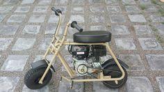 """M&M Steel Solutions """" Desert Racer """" mini bike."""
