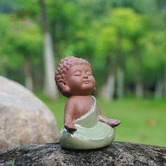 - Zan Fairy MiniatureA set Small Buddha Monk Siting Praying Deep Meditation Fairy Garden Suppl Source by - Baby Buddha, Little Buddha, Buddha Doodle, Buddha Art, Buddha Quote, Small Buddha Statue, Buddha Garden, Fairy Garden Supplies, Gardening Supplies
