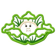 Cabbage Patch Logo Applique Embroidery Design