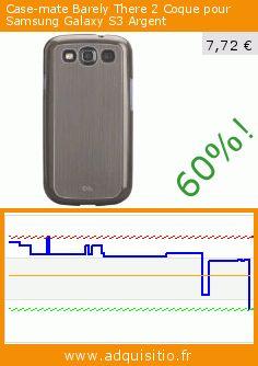 Case-mate Barely There 2 Coque pour Samsung Galaxy S3 Argent (Accessoires pour téléphone sans fil). Réduction de 60%! Prix actuel 7,72 €, l'ancien prix était de 19,28 €. https://www.adquisitio.fr/case-mate/barely-there-2-coque
