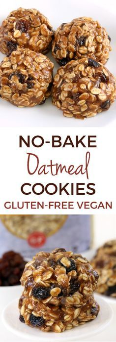 Super quick and easy No-bake Oatmeal Cookies (vegan, gluten-free, dairy-free, and whole grain) @bobsredmill #FuelAwesomeness