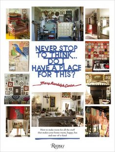 Mary Randolph Carter Of Ralph Lauren On Collecting In A Small Space