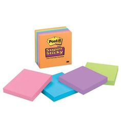 Post-it Notes Super Sticky Notes School Supply Review.