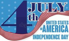 Reminder Date with Waving Flag for the American Independence Day, Vector Illustration Independence Day Date, America Independence Day, American Independence, Happy 4 Of July, 4th Of July, Free Vector Images, Vector Free, Promotional Banners, Flag