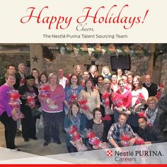 Wishing each of you a wonderful, happy and healthy holiday season from our entire Purina Talent Sourcing Team! #HappyHolidays