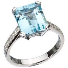 Tiffany Blue Luxury Ring