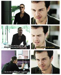 Still more evidence that Michael Fassbender HAS TO play Sebastian Moran on Sherlock.