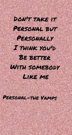 Personal - The Vamps ft. Maggie Lindemann wallpaper